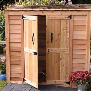 Grand Garden Chalet 6 x 3 Cedar Shed