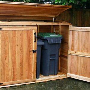 Oscar 6 x 3 Waste Management Shed