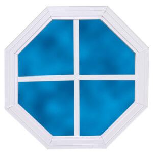Octagonal Gable Window